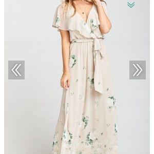 Show Me Your Mumu AUDREY MAXI DRESS ~ BOUQUET TOSS